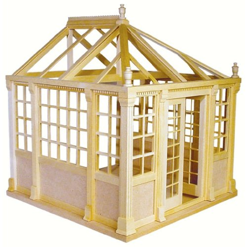 Dollhouse Miniature The Conservatory Kit by Houseworks by Houseworks, Ltd.