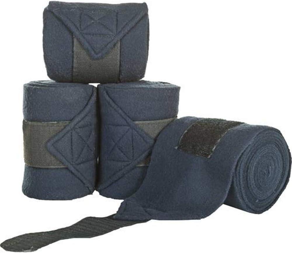 HKM Bandages en Polaire pour Chevaux