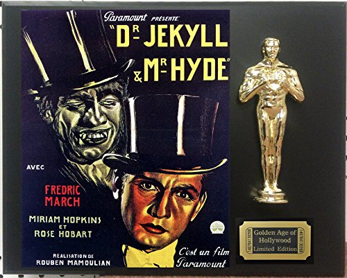 Dr Jekyll and Mr Hyde Limited Edition Oscar Display. Only 500 made. Limited quanities. FREE US SHIPPING