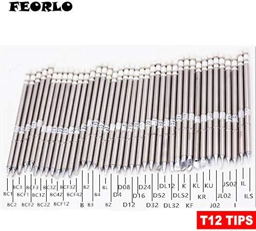 3pcs//set T12-BC2 BL BC3 Series Soldering Iron Tips For HAKKO T12 FX951 FX-952