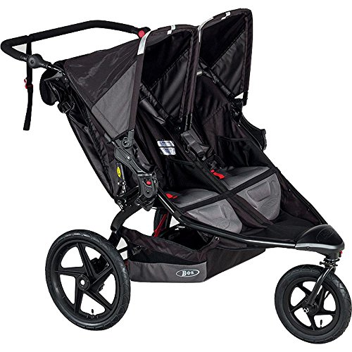 BOB Revolution Flex Duallie Stroller, Black by BOB