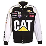 J.H. Design Ryan Newman Cat NASCAR Jacket Size Medium
