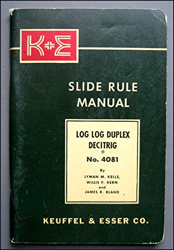 Log Log Duplex Trig Slide Rule Manual ()