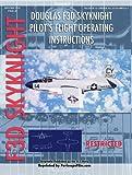 img - for Douglas F3D Skyknight Pilot's Flight Operating Instructions book / textbook / text book