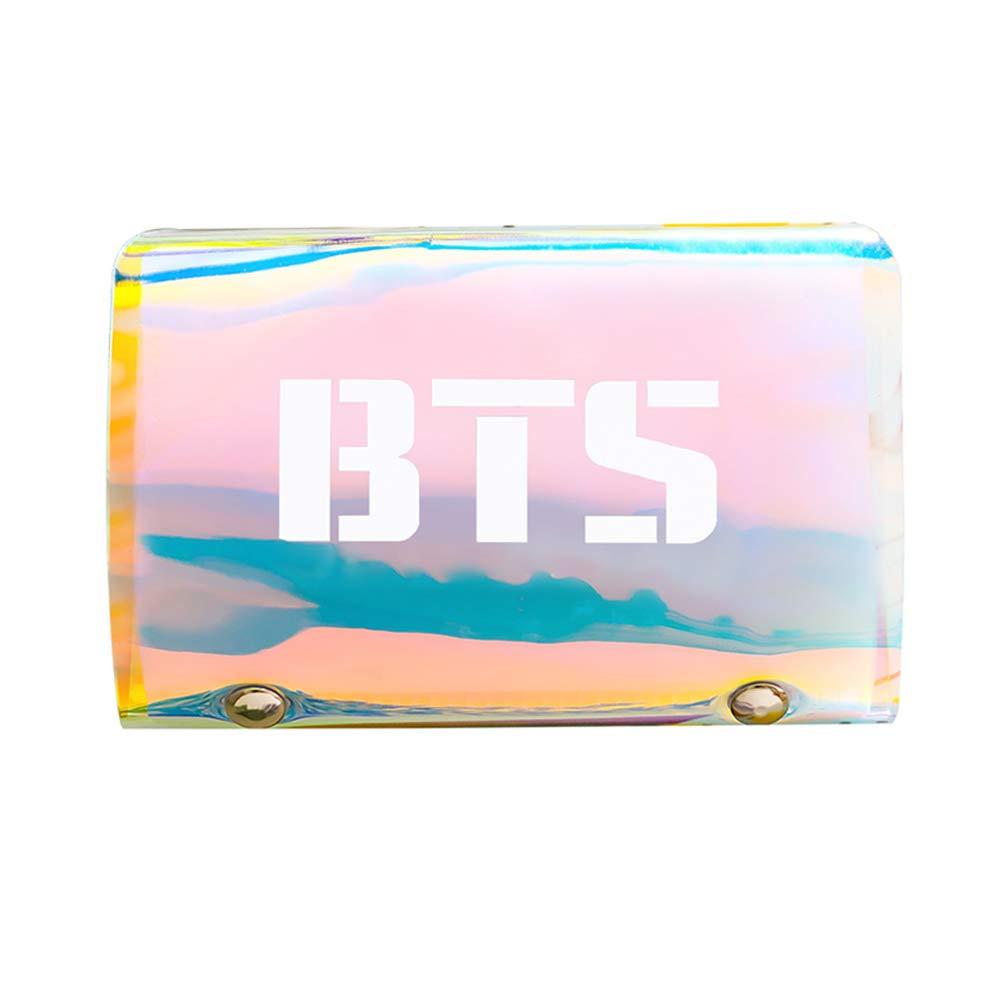 Skisneostype BTS Kartenhalter, KPOP BTS GOT7 EXO Twice Blackpink Seventeen Wanna ONE Ausweishülle Ausweishalter für ID-Karte, Kreditkarte, Bankkarte, Fotokarte, Bibliotheksausweis(Blackpink)