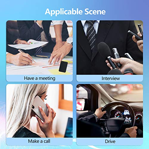 64GB Mini Voice Recorder, Telele Audio Voice Activated Recorder with 750 Hours Recording Capacity and 50 Hours Battery Time, Small MP3 Digital Recorder for Lecture Interview Meeting Class