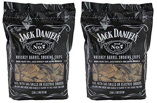 Jack Daniels 01749 Wood BBQ Smoking Chips (2 Pack)