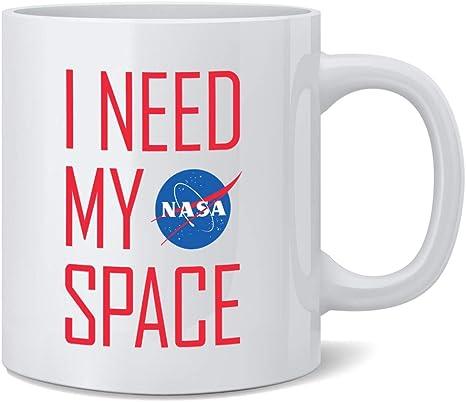NASA /'Worm Logo/' Coffee Tea Mug Official Licensed **NEW**