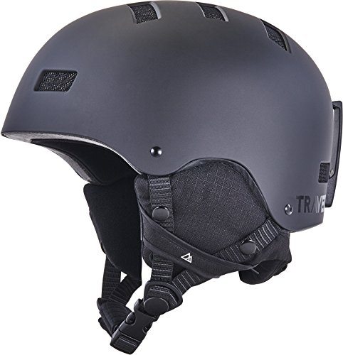 Traverse Sports 2539 Snow Helmet, Matte Obsidian, Medium, 55-59cm