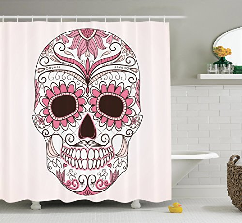 Ambesonne Skulls Decorations Collection Day Of The Dead Gir