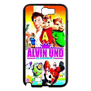 Samsung Galaxy Note 2 N7100 Cell Phone Case Black Alvin and the Chipmunks NF9452721