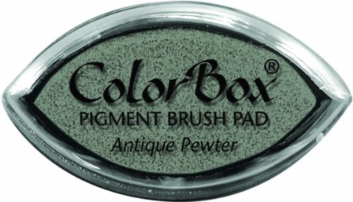 Clearsnap ColorBox Pigment Cat's Eye Inkpad, Antique (Colorbox Crafters Pigment Ink)