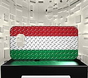 Funda Carcasa para Galaxy S6 Bandera HUNGRÍA 05