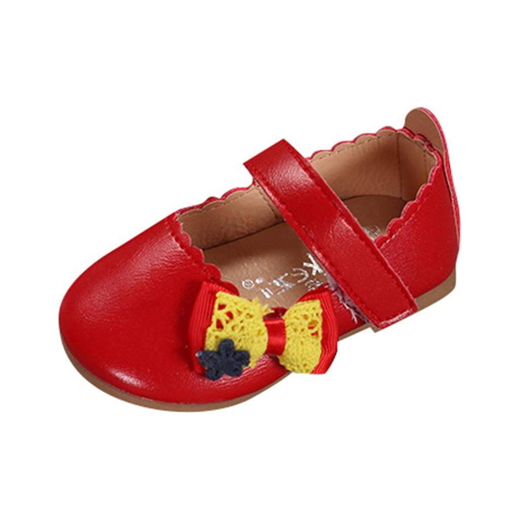 b38446c7a46c Zeside Infant Baby Child Baby Girl Fashion Elegant Bow Single Princess  Casual Shoes in A Variety of Colors to Choose from  Amazon.co.uk  Shoes    Bags