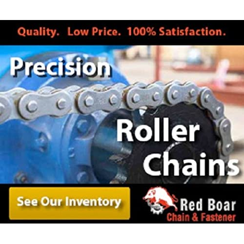 """#35 Riveted Roller Chain 10ft With 2 Connecting links 3/8"""" Pitch"""