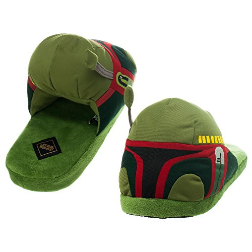 Star Wars Boba Fett Mens Slippers M