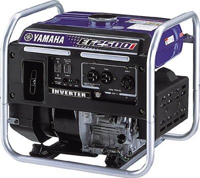 ヤマハ発電機 2.5kVA インバータ発電機(交流専用)[50Hz/60Hz切替式] EF2500i