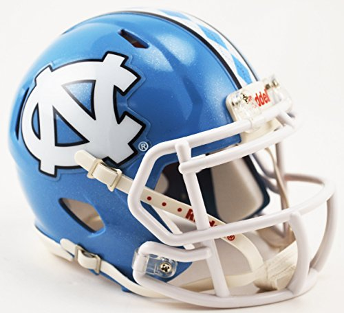 North Carolina Tar Heels Riddell Speed Mini Replica Football Helmet (Carolina Helmet)