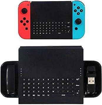 KOBWA Teclado inalámbrico para Nintendo Switch, Gamepad ...