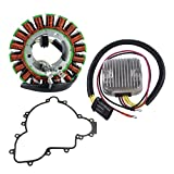 Kit Stator + Mosfet Regulator Rectifier + Crankcase Cover Gasket For Polaris RZR 900 RZR 4 900 RZR 1000 2013-2015