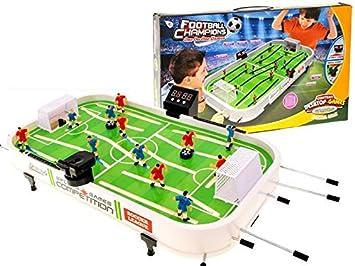 BSD Juego de Acción y Reflejos - Juego de Mesa - Table Soccer - Futbolín de Mesa: Amazon.es: Juguetes y juegos