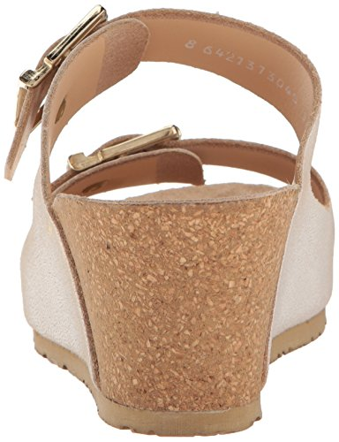 wholesale price sale online shopping online with mastercard Mephisto Women's Lenia Wedge Sandal White Vernis official site sale online clearance cheap cheap sale big sale H24pVicP