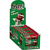 M&M's Holiday Milk Chocolate Minis Size Candy in Tubes, 1.08 Ounce (Pack of 24)