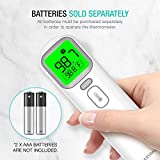 EasyEast Touchless Infrared Thermometer, Smart