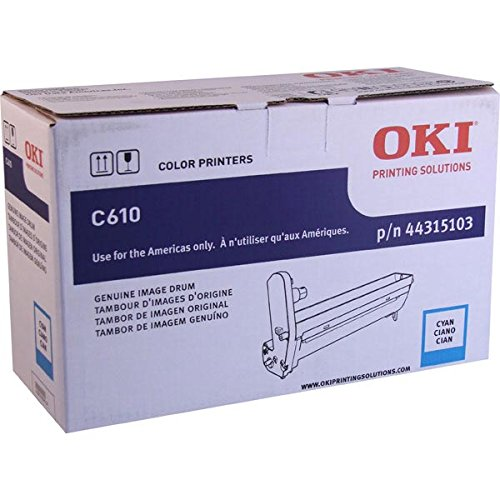 Oki C610 Series Cyan Image Drum Kit 20000 ()
