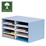 Bankers Box Style Desktop Sorter - Blue/White, Pack of 1