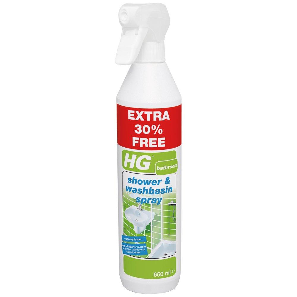 HG 1 x Shower and Washbasin Spray, White, 650 ml 147065106