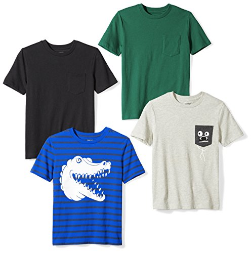 Spotted Zebra 4 Pack Sleeve T Shirt