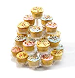 Good Cook 4319 Collapsible Plastic Cupcake Stacker