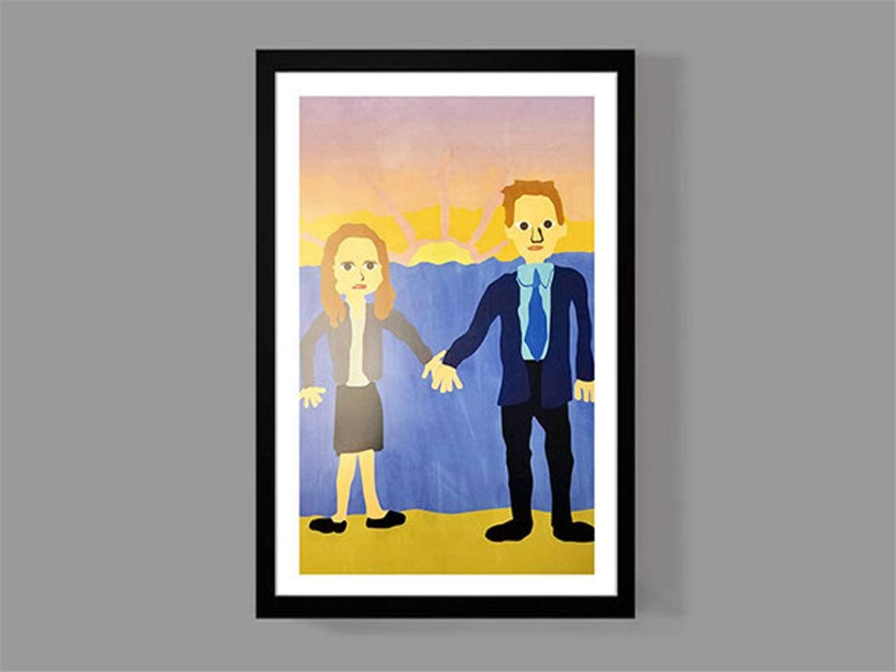 NATVVA The Office Jim and Pam Wedding Poster Funny The Office Prints Canvas Pictures Paintings on Canvas Wall Art for Home Decor Painting Picture Artwork No Frame Funny Gift