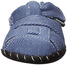 pediped Harvey Originals Fisherman Sandal (Infant/Toddler),Denim,Medium (12-18 Months)