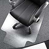 Floortex Polycarbonate Chair Mat with Lip for Plush Pile Carpets 48