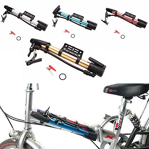 FidgetFidgetPump Ball Tire Hand High Pressure Inflator 2PCS Portable Bike Bicycle Aluminum by FidgetFidget