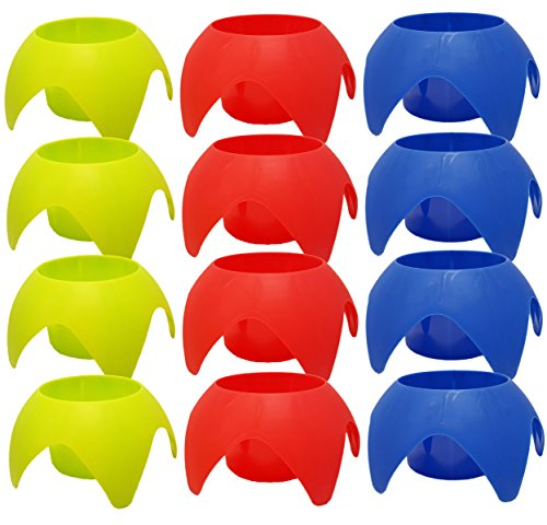 Set of 12 Sand Beach Yard Coaster Drink Cup Holder Durable P