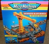 Micro Machines Ace Road Builders Hiways & Byways Playset by Galoob MicroMachines