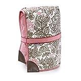 Kathy Ireland Loved Ones Reversible Travel Pet Mat - Pink Floral/Pink