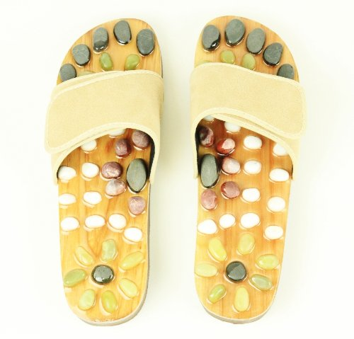 iLIVING-Natural-Stone-Massage-Shoes-Reflexology-Sandals