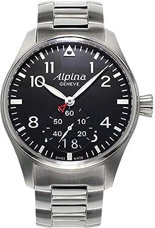 Alpina Geneve Startimer Pilot AL-280B4S6B Herrenarmbanduhr Sehr gut ablesbar