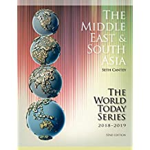 The Middle East and South Asia 2018-2019 (World Today (Stryker))