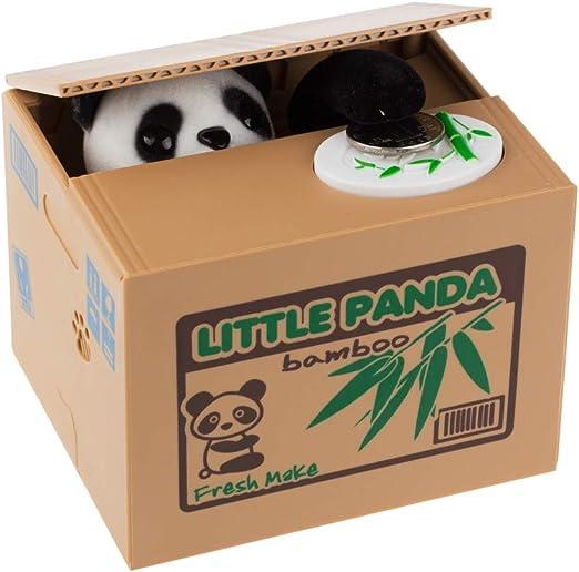 Panda ladrón del Gato Cajas de Dinero de Juguete Huchas Regalo ...