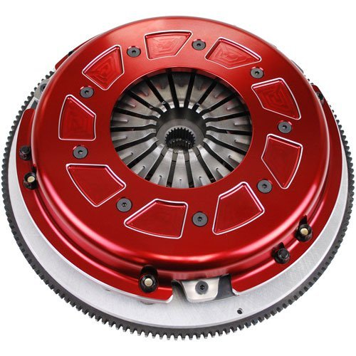 Ram 60-2140 Pro Street Dual Disc Clutch System Size 10.5 168 Tooth Count 10 Spline By 1 1/8 in. Incl. Flywheel/Disc/Pressure Plate 2 pc. Rear Seal Pro Street Dual Disc ()