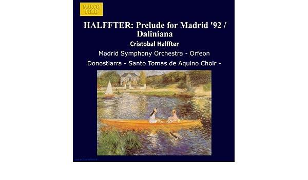 Daliniana: Relojes blandos by Orquesta Sinfónica de Madrid on Amazon Music - Amazon.com