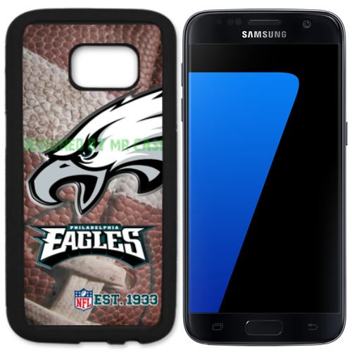 (Eagles Phladelphia Football New Black Samsung Galaxy S7 Case By Mr Case)