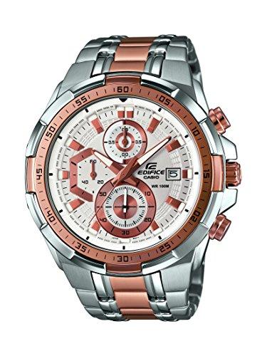 Orologio-Uomo-Quarzo-Casio-Edifice-display-Analogico-cinturino-Acciaio-inossidabile-Argento-e-quadrante-Bianco-EFR-539SG-7A5VUEF