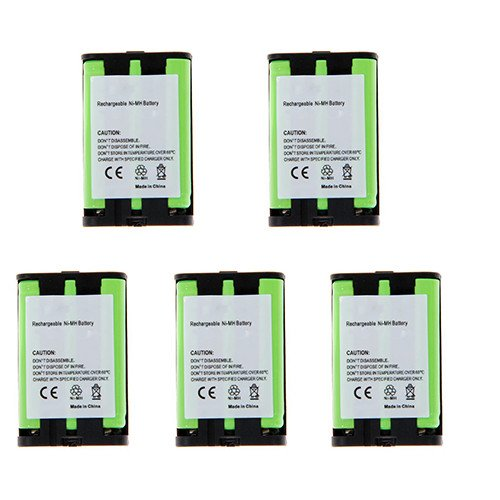 Lenmar Telephone - Lenmar CBO107 Cordless Phone Battery Combo-Pack includes: 5 x UL107 Batteries
