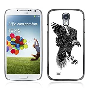YOYOSHOP [Beautiful Pattern Eagle Art] Samsung Galaxy S4 Case WANGJING JINDA